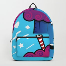 Cute Kawaii Ice Cream Drink Backpack