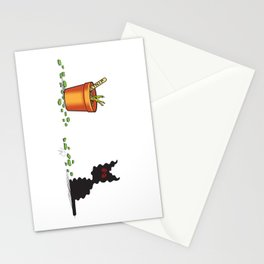 Feed Your Head (The Naughty Kitten) Stationery Cards