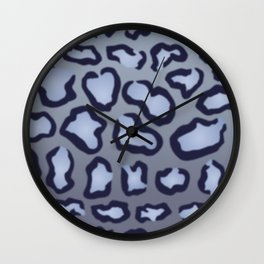 Twilight Leopard Wall Clock
