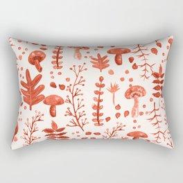 Autumn Reds Rectangular Pillow
