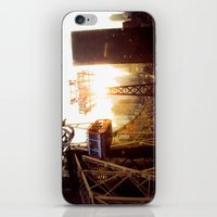 hook iPhone & iPod Skins featuring Hook, Line & Sinker by Phil Provencio
