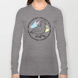Nice Bird Long Sleeve T-shirt