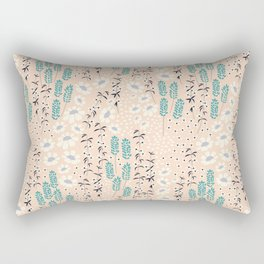 Flower garden 012 Rectangular Pillow