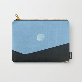 7 AM Moon Over Woodstock, NY Carry-All Pouch