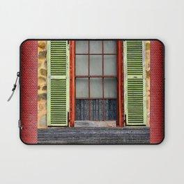 Window Shutters Laptop Sleeve