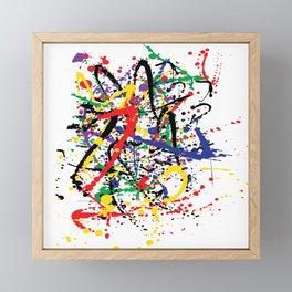 Pollock Remembered by Kathy Morton Stanion Framed Mini Art Print