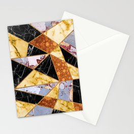 Molten Metal & Marble Stationery Cards