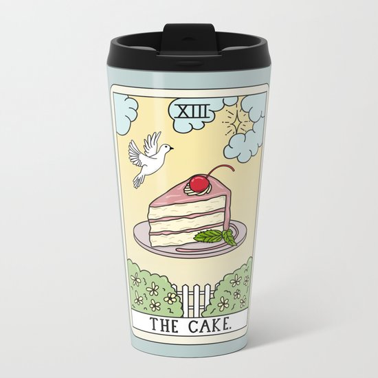 CAKE READING Metal Travel Mug