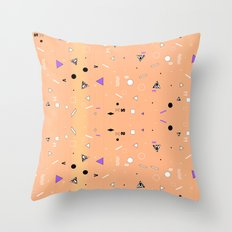 NEW WAVE CHEMISTRY  Throw Pillow
