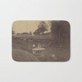 Japanese Bridge Bath Mat