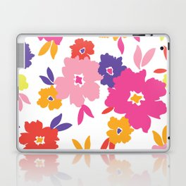 Large Colorful Florals Laptop & iPad Skin