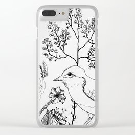 Lil Birdy Clear iPhone Case