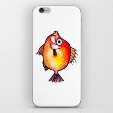 Pesce rosso iPhone & iPod Skin