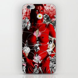 Fire Walks With Her iPhone Skin