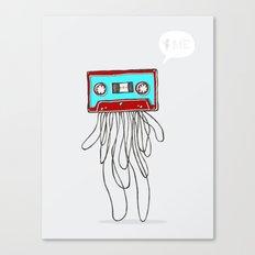 Cassette Boy Canvas Print