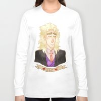 jjba Long Sleeve T-shirts featuring SPEED by The SkeletEgg Foundation