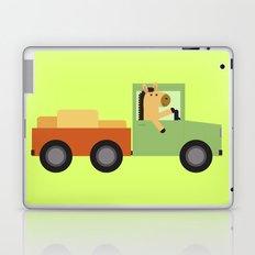 Horse on Truck Laptop & iPad Skin