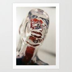 Transparent Thoughts Art Print