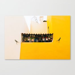 Alfama - Lisbon, Portugal - #4 Canvas Print