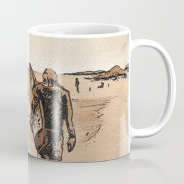 Coffee Art- Surf Coffee Mug