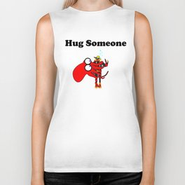 Hug Someone Biker Tank