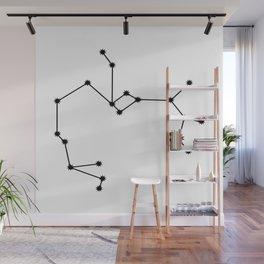 Sagittarius Astrololgy Star Sign Minimal Wall Mural