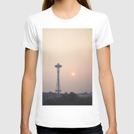Smoky Sunset in Seattle T-shirt