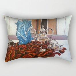 Spilled Milk Rectangular Pillow