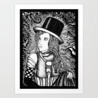 Multiple Personality Art Print