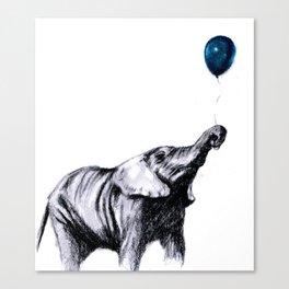 elephant 1 Canvas Print