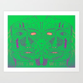 therapist Art Print