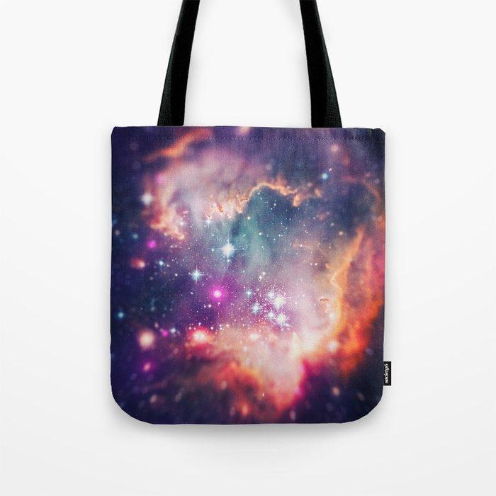 The Universe under the Microscope (Magellanic Cloud) Tote Bag