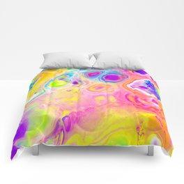 Rainbow Cells Comforters