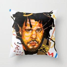 J. Cole Throw Pillow