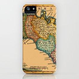 Map Of Minorca 1756 iPhone Case