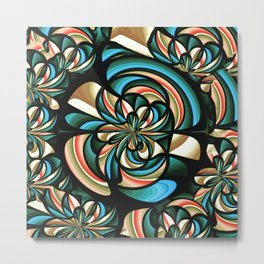 Almost floral abstract Metal Print