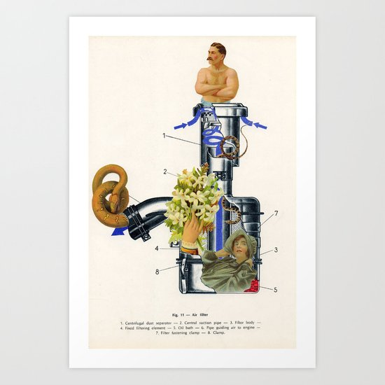 Love Filter Art Print