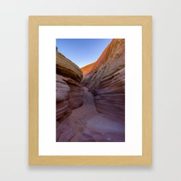 Colorful Canyon- 2, Valley of Fire State Park, Nevada Framed Art Print