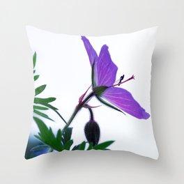 A small corner of my garden Throw Pillow