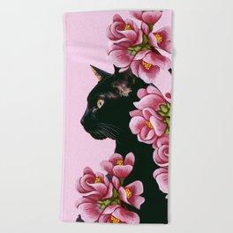 cat 7 Beach Towel