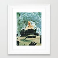 europe Framed Art Prints featuring Europe by tareco