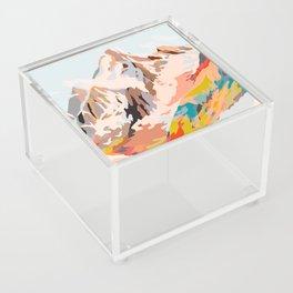 glass mountains Acrylic Box