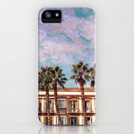 Rosy Skies in Spain iPhone Case