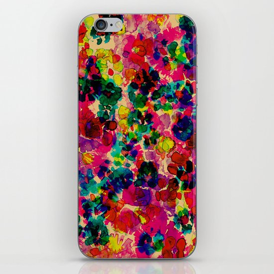 Floral Explosion iPhone & iPod Skin