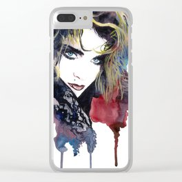 Madonna Clear iPhone Case