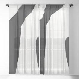 Knee Sheer Curtain