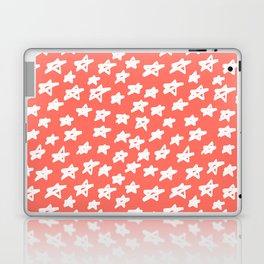 Stars Living Coral Laptop & iPad Skin