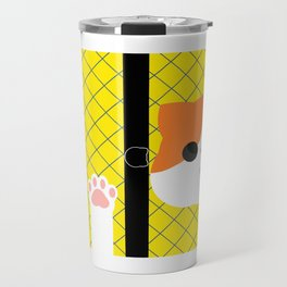 Cat And Paws Travel Mug
