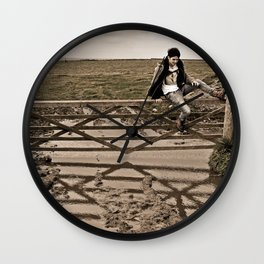 Up and Over Wall Clock