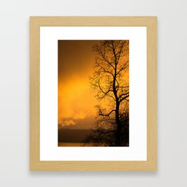 Beautiful Sky Framed Art Print
